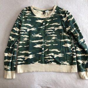 Crew neck camo BDG sweatshirt